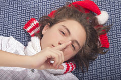 Psst, I am trying to sleep! Stock Photo