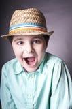 Psujący dziecko zdjęcia royalty free