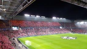 PSV soccer stadium. Champions League game Stock Photos