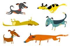Psy ilustracja wektor