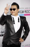 PSY. At the 40th Anniversary American Music Awards held at the Nokia Theatre L.A. Live in Los Angeles, United States, 181112 Royalty Free Stock Images