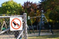 Psy zakazujący Zdjęcia Royalty Free