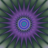 Psychadelic abstract illustration background. Psychadelic radial abstract illustration background Stock Photos