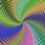 Psychadelic abstract illustration background. Psychadelic radial abstract illustration background Royalty Free Stock Image