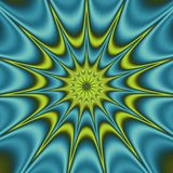 Psychedelic abstract illustration background. Psychedelic radial abstract illustration background Stock Image