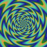 Psychadelic abstract illustration background. Psychadelic radial abstract illustration background Stock Images