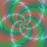 Psychadelic abstrakcjonistyczny ilustracyjny tło Zdjęcia Stock