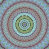 Psychadelic abstrakcjonistyczny ilustracyjny tło Obrazy Royalty Free