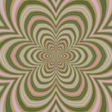 Psychadelic abstrakcjonistyczny ilustracyjny tło Fotografia Royalty Free