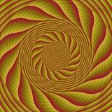 Psychadelic abstrakcjonistyczny ilustracyjny tło Fotografia Stock
