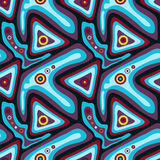 Psychedelic αφηρημένο υπόβαθρο γκράφιτι Στοκ εικόνες με δικαίωμα ελεύθερης χρήσης