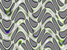 Psychedelic πρότυπο Στοκ φωτογραφία με δικαίωμα ελεύθερης χρήσης