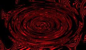 Psychedelic τέχνη στροβίλου ύπνωσης Γραφικό καθιερώνον τη μόδα υπόβαθρο στροβίλου syntwave διανυσματική απεικόνιση