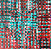 Psychedelic υπόβαθρο δυσλειτουργίας Παλαιό λάθος οθόνης TV Ψηφιακό αφηρημένο σχέδιο θορύβου εικονοκυττάρου Δυσλειτουργία φωτογραφ Στοκ Εικόνες