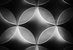 Psychedelic. Repetitive patterns, this has a 1960s, 1970s design feel Stock Photo