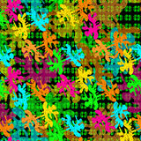 Psychedelic abstract background wallpaper Royalty Free Stock Photo