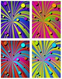 Psychedelic abstract design Stock Photos