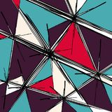 Psychedelic abstract graffiti background. Quality vector illustration for your design Royalty Free Stock Photography