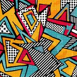 Psychedelic abstract graffiti background. Vector eps 10 Royalty Free Stock Image