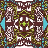 Psychedelic abstraction background tribal Stock Images