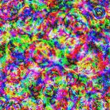 Psychedelic Art, Pattern, Textile, Art royalty free stock image