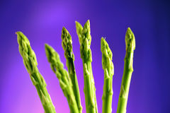 Psychedelic Asparagus 2 royalty free stock photo