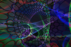 Psychedelic background Stock Image