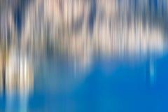 Psychedelic background based on blured landscape image. Looks like painting vector illustration