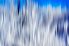 Psychedelic background based on blured landscape image. Looks like painting Stock Photography