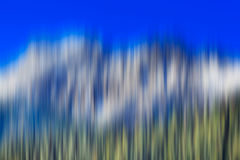 Psychedelic background based on blured landscape image. Looks like painting Royalty Free Stock Photos