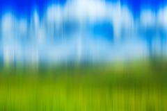Psychedelic background based on blured landscape image. Looks like painting Royalty Free Stock Image