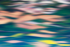 Psychedelic background based on blured landscape image. Looks like painting Royalty Free Stock Photography