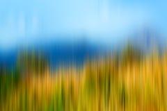 Psychedelic background based on blured landscape image. Looks like painting royalty free illustration