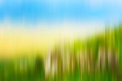 Psychedelic background based on blured landscape image. Looks like painting stock illustration
