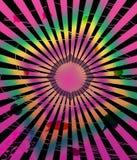 psychedelic bakgrund Arkivbilder