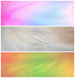 Psychedelic Banners or Backgrounds Royalty Free Stock Photos