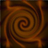 Psychedelic blur glass spiral Royalty Free Stock Photo