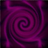 Psychedelic blur glass spiral Stock Image