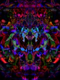 Psychedelic Bug Monster Royalty Free Stock Photo