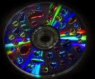 Psychedelic CD Royalty Free Stock Image