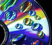 Psychedelic CD Royalty Free Stock Photos