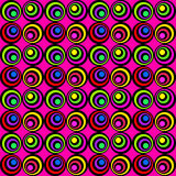 Psychedelic circles Royalty Free Stock Photography
