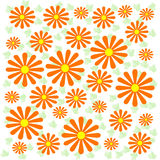 Psychedelic flowers Stock Images
