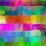 Psychedelic Fluid mosaic royalty free illustration