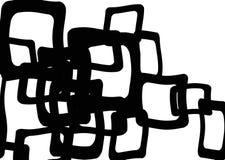 psychedelic fyrkanter Arkivbilder