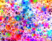 Psychedelic Galaxy Mess Royalty Free Stock Images