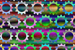Psychedelic Gears # 3 Stock Photography
