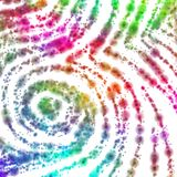 Psychedelic Grainy Swirl. Psychedelic decoration tile with a strange swirl Royalty Free Stock Photo