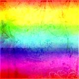 Psychedelic Grunge Tile Stock Images