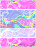 Psychedelic Headers Royalty Free Stock Image